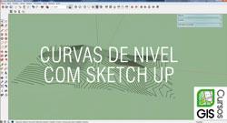 curvas de nivel com sketch up